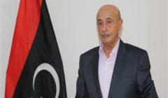 عقيلة صالح يدعو المجتمع الدولي لاحترام إرادة الليبيين لتسوية الأزمة