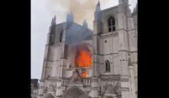 فرنسا تطلق سراح رجل اعتقلته للاستجواب في حادث حريق كاتدرائية نانت