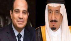السيسي يجري اتصالا بالملك سلمان بن عبدالعزيز للاطمئنان على صحته