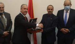 الشوربجي لوزير الإعلام اليمني: الصحافة المصرية استعادت مكانتها العربية في عهد الرئيس السيسي