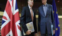 """بريطانيا:""""من الواضح"""" أننا لن نتوصل إلى اتفاق بريكست نهاية الشهر الجاري"""