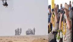 حسم 2020.. مناورة للقوات المسلحة في الاتجاه الاستراتيجي الغربي - فيديو