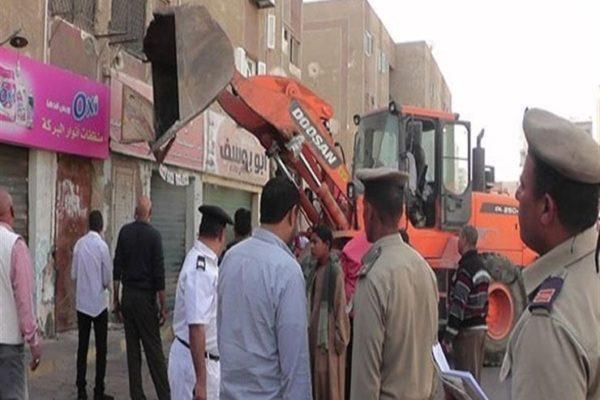الجيزة: رفع 35 حالة إشغالات بجنوب المحافظة