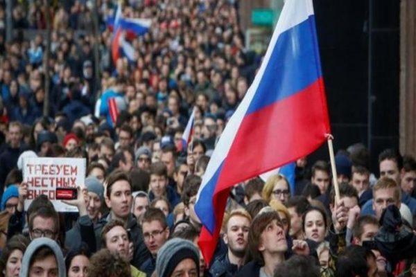 استمرار التظاهرات في شرق روسيا بسبب احتجاز حاكم سابق