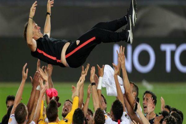 تقرير.. بعد الانتقادات والإقالة بسبب خماسية.. لوبيتيجي يحقق أولى بطولاته مع إشبيلية