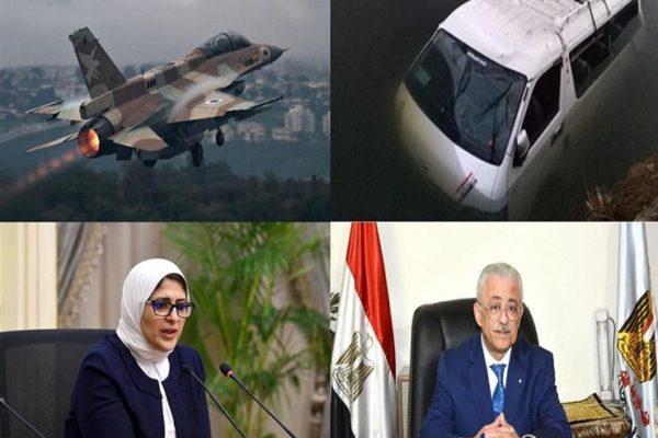 حدث ليلًا| 3 دول عربية بدون إصابات بكورونا.. وتفاصيل قصف إسرائيلي لأهداف سورية
