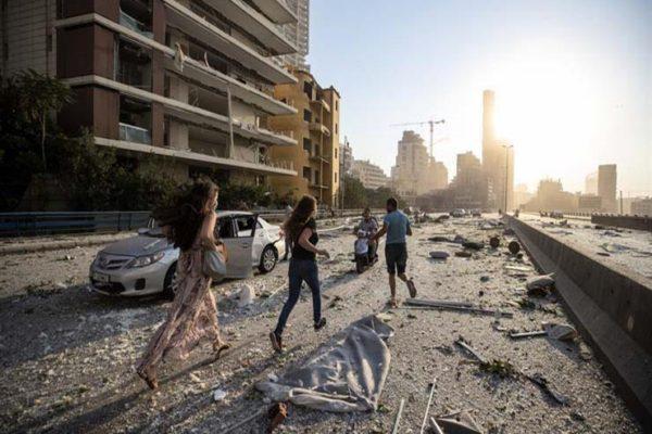 ارتفاع عدد ضحايا انفجار بيروت إلى 78 قتيلاً و4 آلاف مصاب.. ومساعدات دولية تصل قريبًا