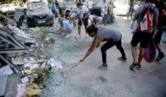 شبان وشابات يتطوعون لتنظيف بيروت ومواساة أهلها في غياب الدولة