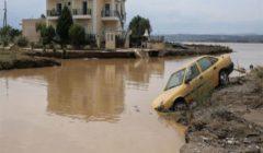 بينهم طفل.. مصرع 3 أشخاص وأضرار جسيمة جراء فيضانات بجزيرة يونانية