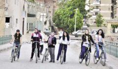 بنات المنيا يطلقن مبادرة «الدراجة للجميع»: ترحمنا من مضايقات المواصلات