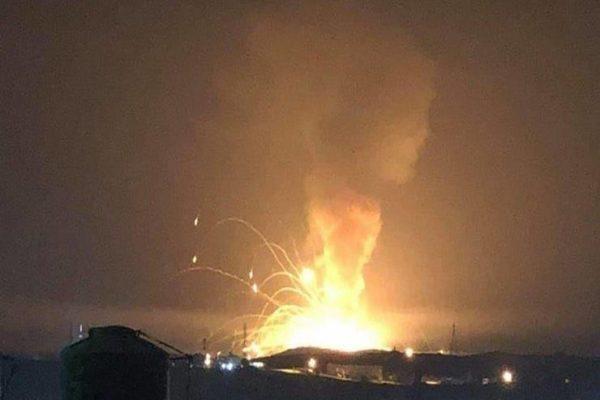 حرائق وانفجارات في مستودع ذخيرة في التشيك