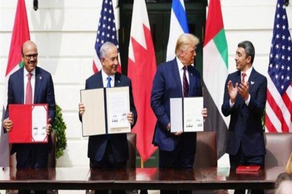 """تطبيع علاقات إسرائيل مع الإمارات والبحرين: دونالد ترامب يحتفل بـ""""فجر شرق أوسط جديد"""""""