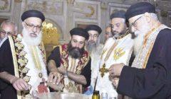 كنائس المنيا الأرثوذكسية تحتفل بعيد «النيروز»