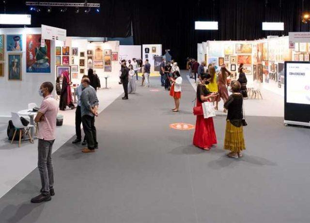 «لمحة عن الفن المصرى المعاصر» يفوز بجائزة أفضل جاليري عالميًا في ملتقي الفنون دبي
