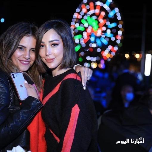 الظهور الأول لتامر حسني وبسمة بوسيل بعد الصلح .. شاهد بالصور