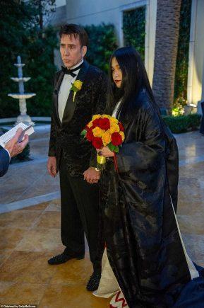 حفل زفاف نيكولاس كيدج