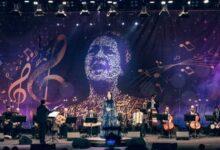 حفيدة أم كلثوم سناء نبيل تغنى لأول مرة فى مصر بمسرح الزمالك (صور)