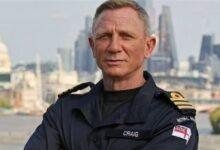 دانيال كريج يحصد لقب قائد بالقوات البحرية البريطانية بسبب «جيمس بوند»