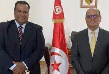 جمال ياقوت يلتقي سفير تونس بالقاهرة لمناقشة مشاركة بلاده في المسرح التجريبي