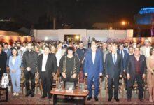 وزيرة الثقافة تكرم عددا من أبطال أكتوبر وفناني مصر بالهناجر (صور)