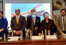 بدء فعاليات المؤتمر الصحفي لمهرجان شرم الشيخ الدولي للمسرح الشبابي