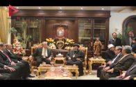 """محافظ جنوب سيناء يشهد احتفال كنيسة """"السمائيين"""" بشرم الشيخ بعيد الميلاد"""