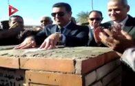 وزير التعليم يضع حجر أساس مدرسة الفاروق الرسمية للغات في أسيوط